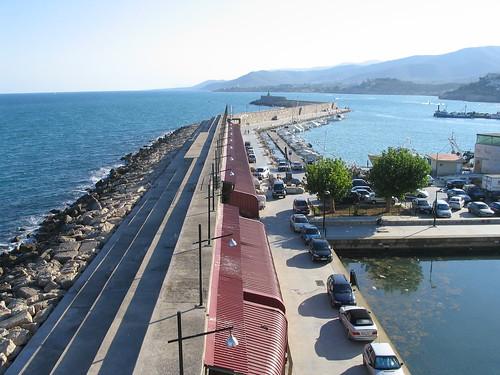 El puerto de Peñiscola