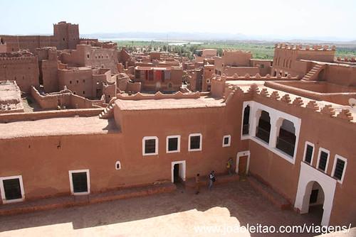 Kasbah Taourirte em Ouarzazate Marrocos