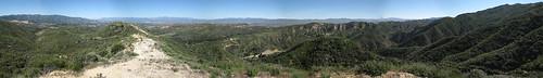 Placerita Canyon Loop Pano 01