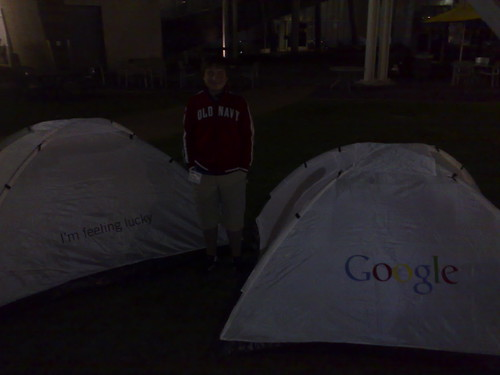 Me at GooglePlex!