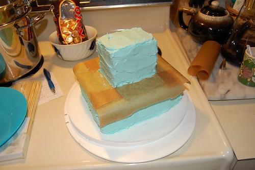 Kidlet's birthday cake