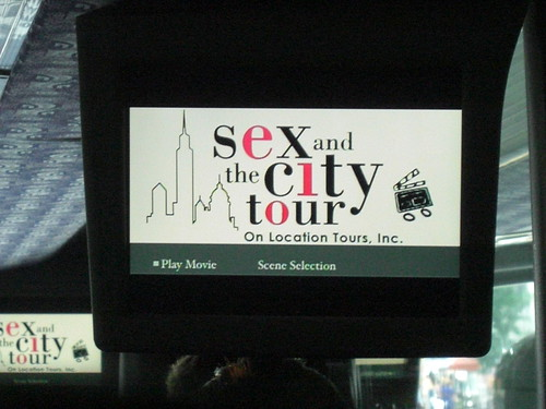 sex and the city tour!