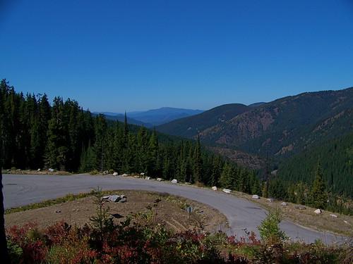 Northwest from Thompson Pass into Idaho