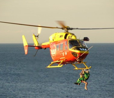 Wellington WestpacTrust Rescue Helicopter In Action