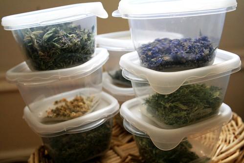Processed herbs