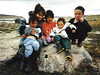 Jo with Inuit kids, MyLastBite.com