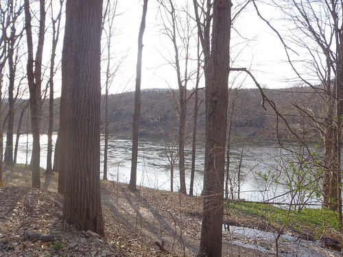 Delaware River as seen from Old Mine Road