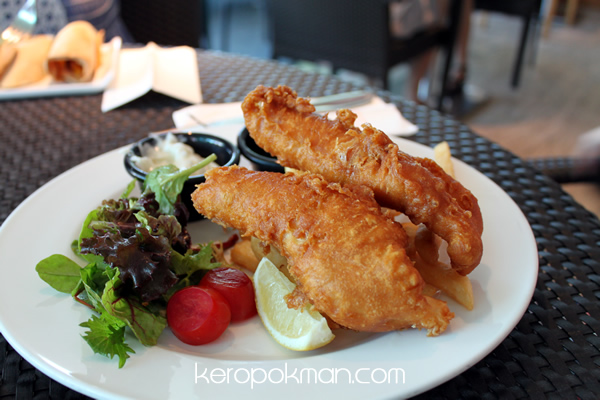 Fish & Chips - Privé - Bakery Cafe @ Marina at Keppel Bay
