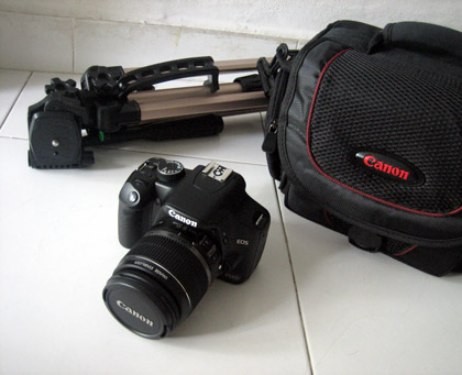 the new EOS 450D