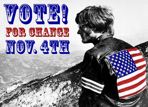 Vote 4 Change Nov. 4th!