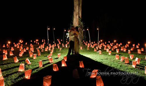 Candle lit wedding 1 by Tim Boehm Photography.