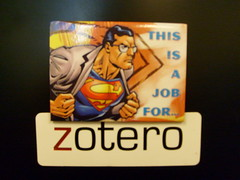 This is a job for Zotero by jazzmodeus, on Flickr