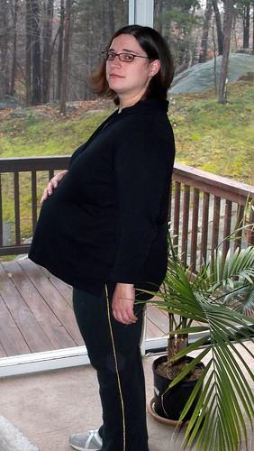 Dominica Very Pregnant