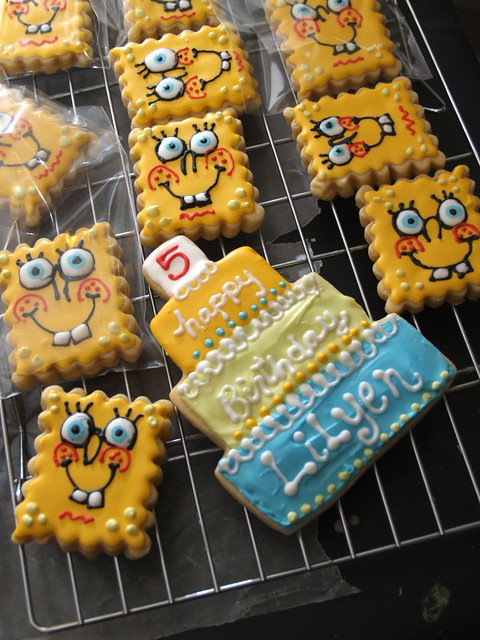SpongeBob Cookies!