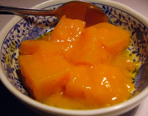 Mango No Kantent (mango pudding)