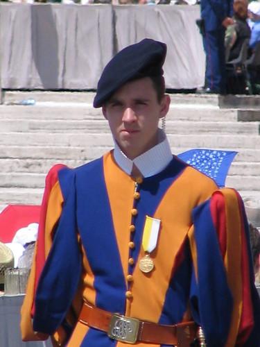 a Swiss Guard