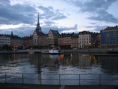 Gamla Stan at night