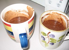 Chocolate Cake in a Coffee Mug
