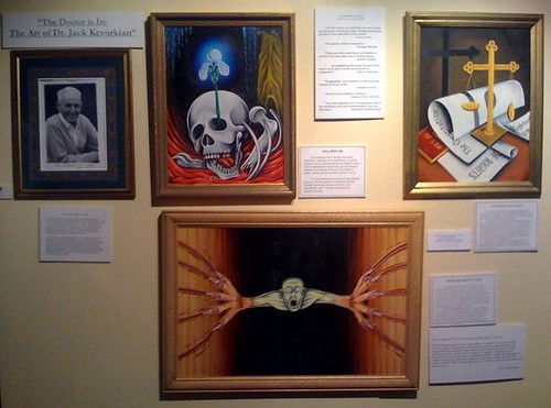 Jack Kevorkian at the Armenian Library Museum of America