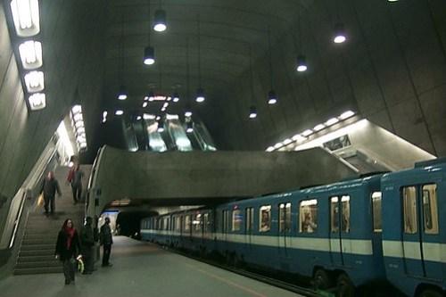 Montreal Metro - Radisson