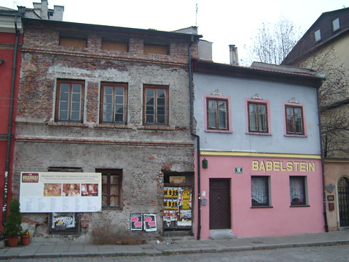 Buildings in the former Jewish quarter of Kazimierz