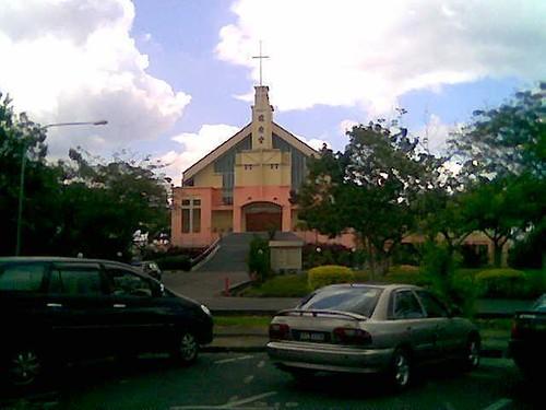 Chopsticks - church opposite