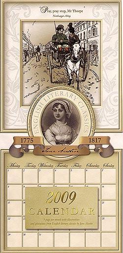 2009 Jane Austen Calendar
