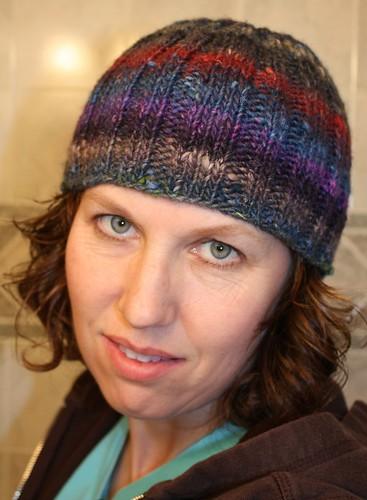 Noro Silk Garden Rib Hat