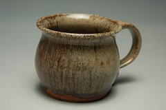 Red/Grey Mottled Mug