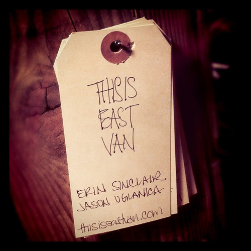 This is East Van - organizer tag