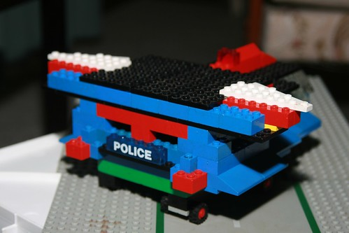 Police Space Ship - Rear