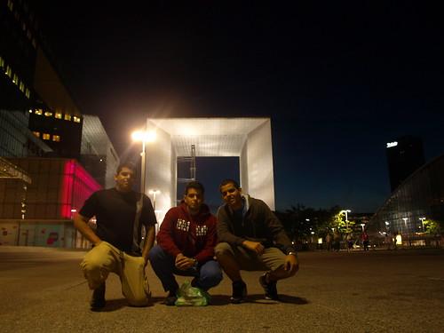 Nosotros y el Arco de La Défense