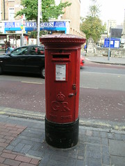 Letter box, Uxbridge Road, Ealing, London