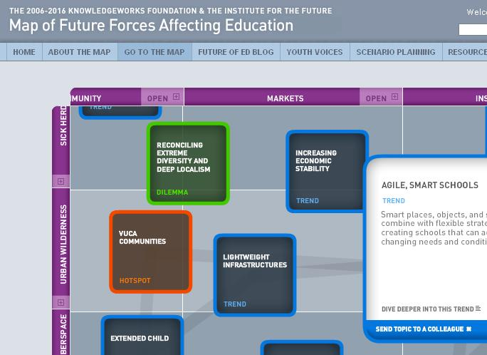 future of education map
