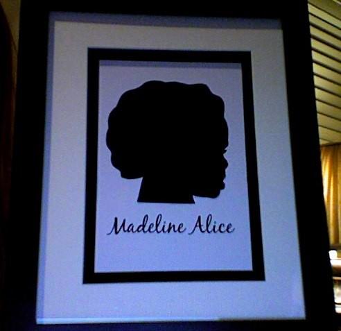 Maddie Silhouette