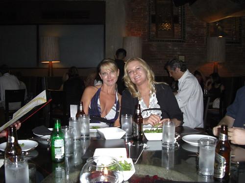Karen Hoxmeier and Connie Berg - Pre-LinkShare Symposium Dinner