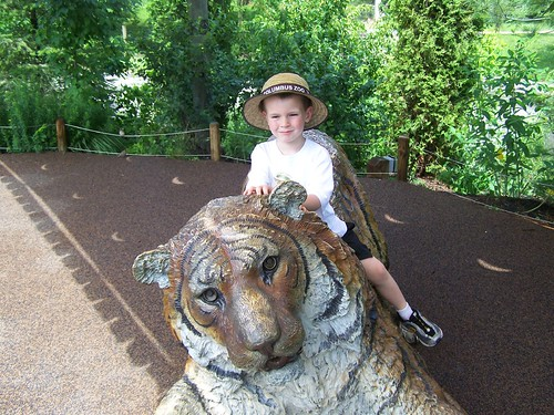 Benjamin at the Columbus Zoo