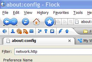Speed Up Flock - network.http