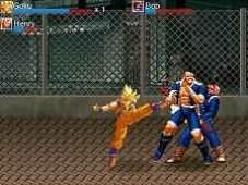 Goku Patadas