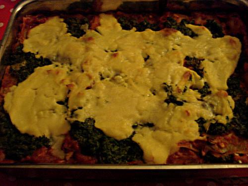 Spinacha lasagna