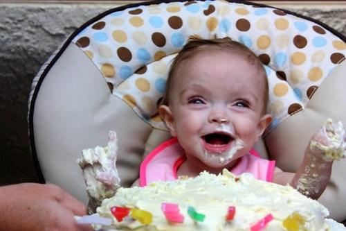 birthday cake dive