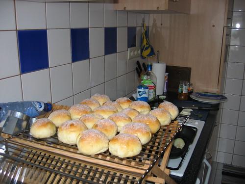 Gran's sugar buns