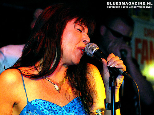 Mariella Tirotto & The Blues Federation @ Cafe Royal, Mill, NL