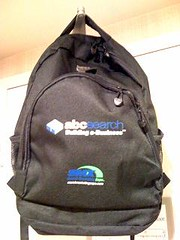 The cool SMX West 2008 bag.