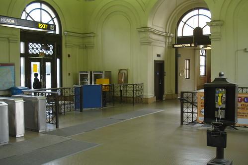 Inside Forest Hill Station