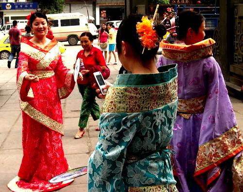 Ciqikou Street Performers