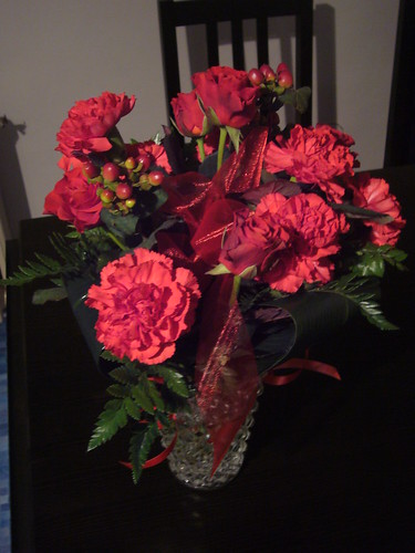 Flowers I got delivered from a Czech website