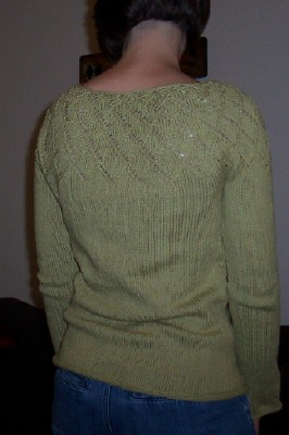 phyllo pullover back