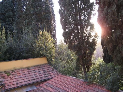 View from Villa La Sosta