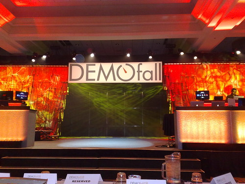 DEMOfall - getting ready to start